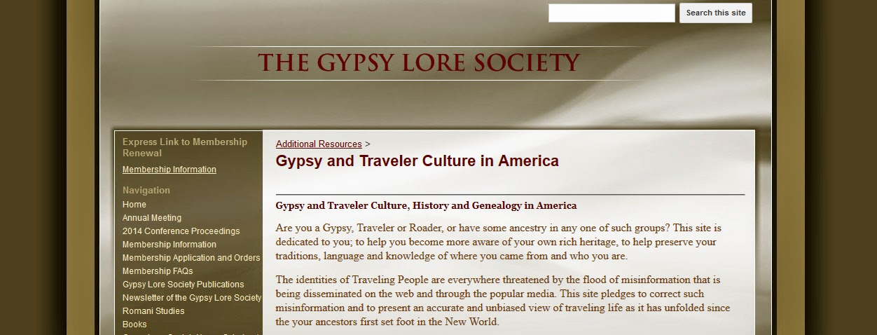 http://www.gypsyloresociety.org/additional-resources/gypsy-and-traveler-culture-in-america