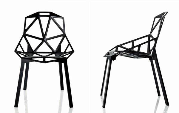 The daily brot konstantin grcic chair one for Chair one grcic