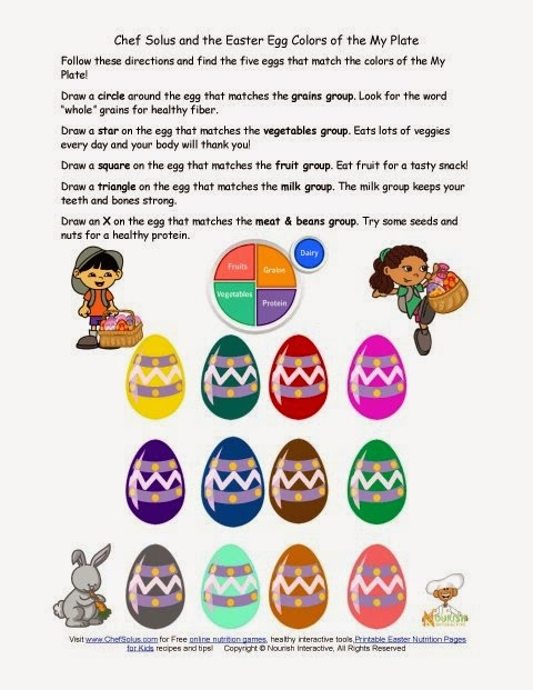 http://www.nourishinteractive.com/nutrition-education-printables/749-kids-easter-food-groups-worksheets-healthy-my-plate-elementary-nutrition