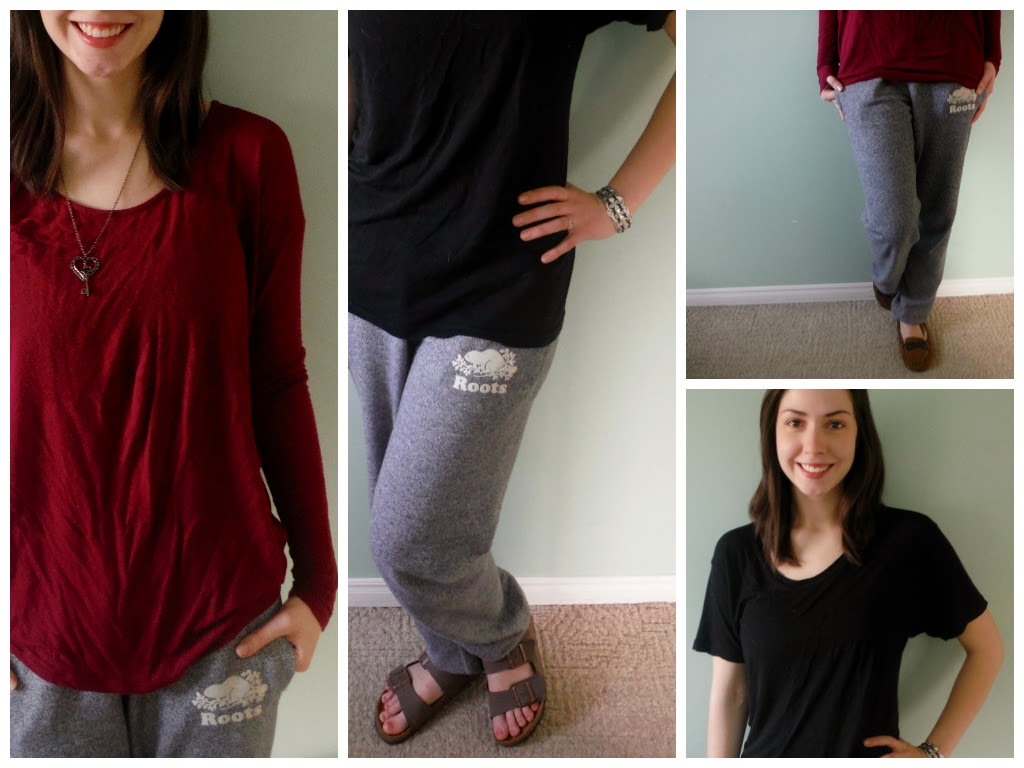 how to wear sweatpants | marlee and you