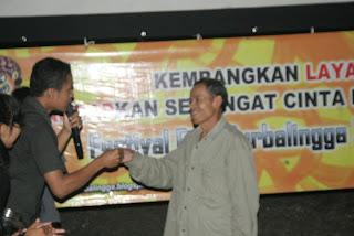 Kemeriahan Festival Film Purbalingga (FFP) 2012 di Desa Gunungwuled, Gunung Wuled.