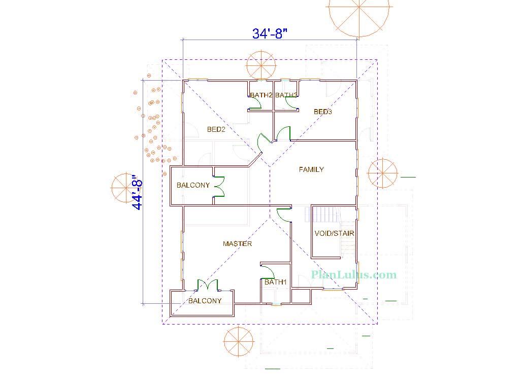 Architectural idea consultant pelan dr hisham for Plan arkitek