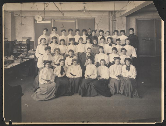 Butterick Publishing, Circulation Department (From the Collections of the Museum of the City of New York)