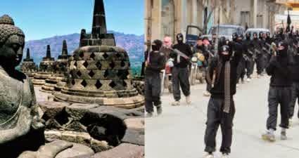 ISIS Ancama Candi Borobudur