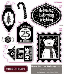 October 2014 Stamp of the Month~Home for the Holidays