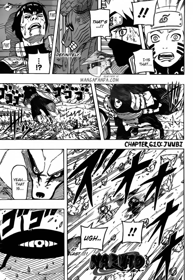 003, Naruto chapter 610    NarutoSub