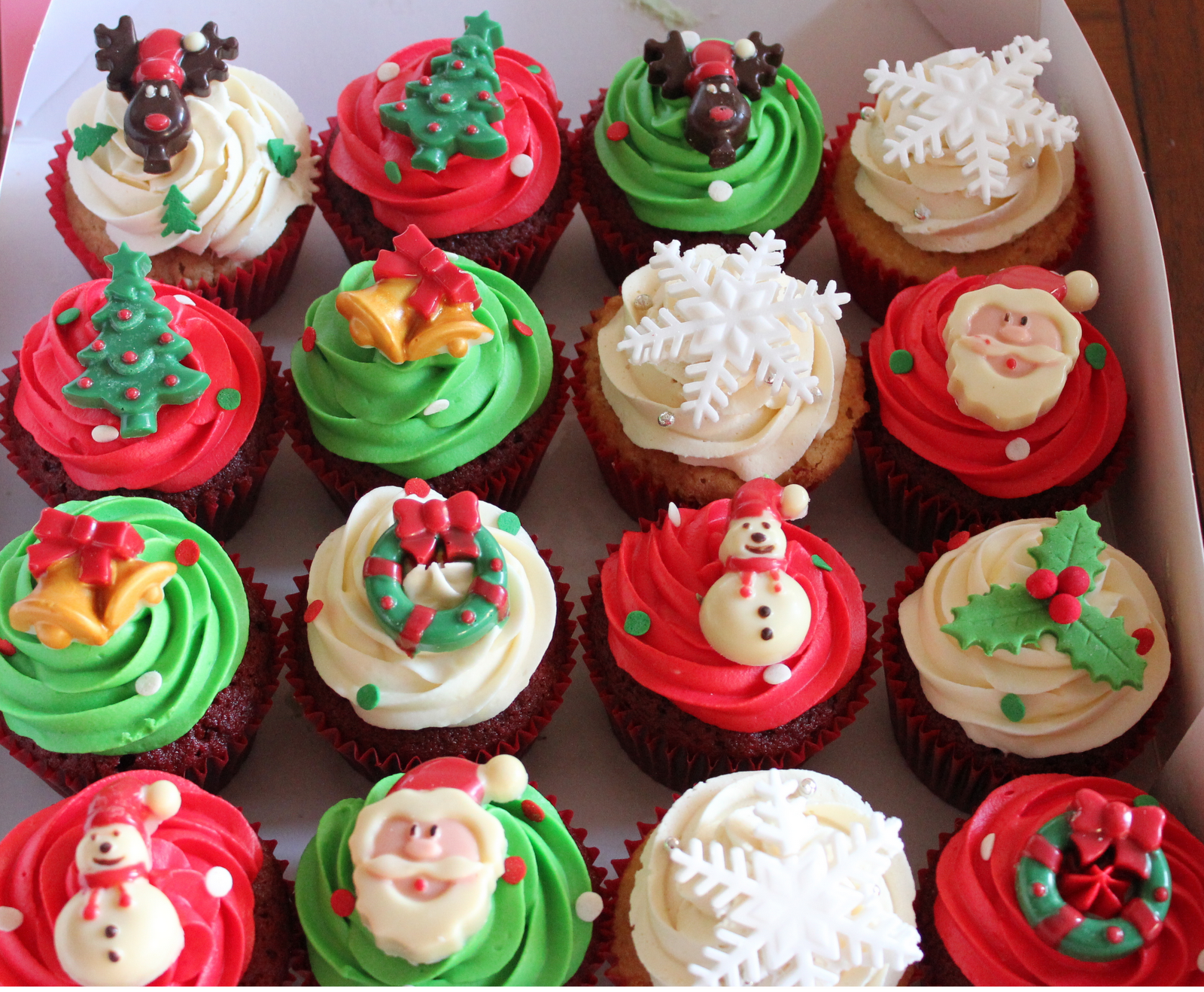 Best Christmas Cupcakes