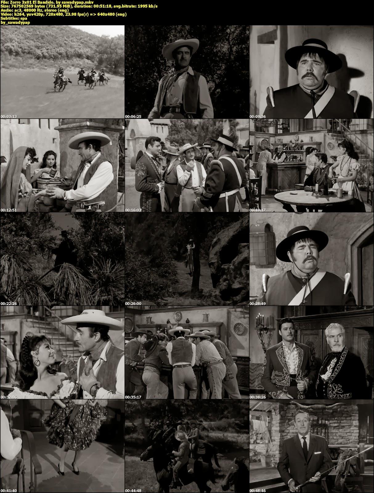 El Zorro [3° Temporada][DVDRip][Subtitulada]