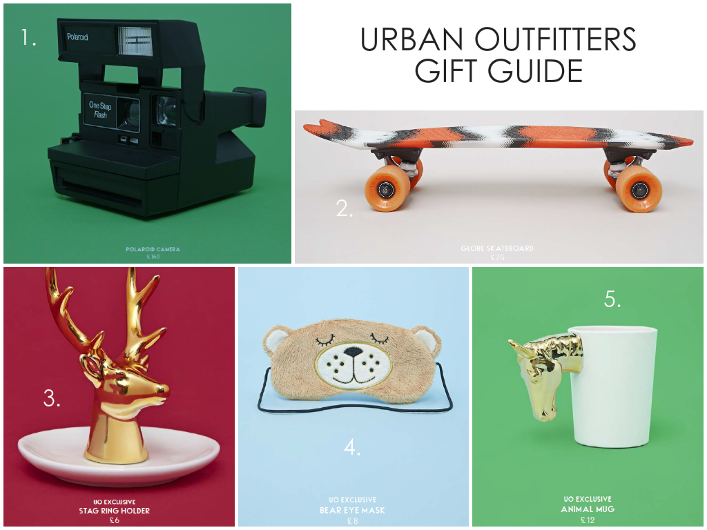 Urban Outfitters Christmas Gift Guide 2014