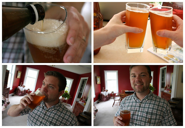 Homebrew made with Mr Beer