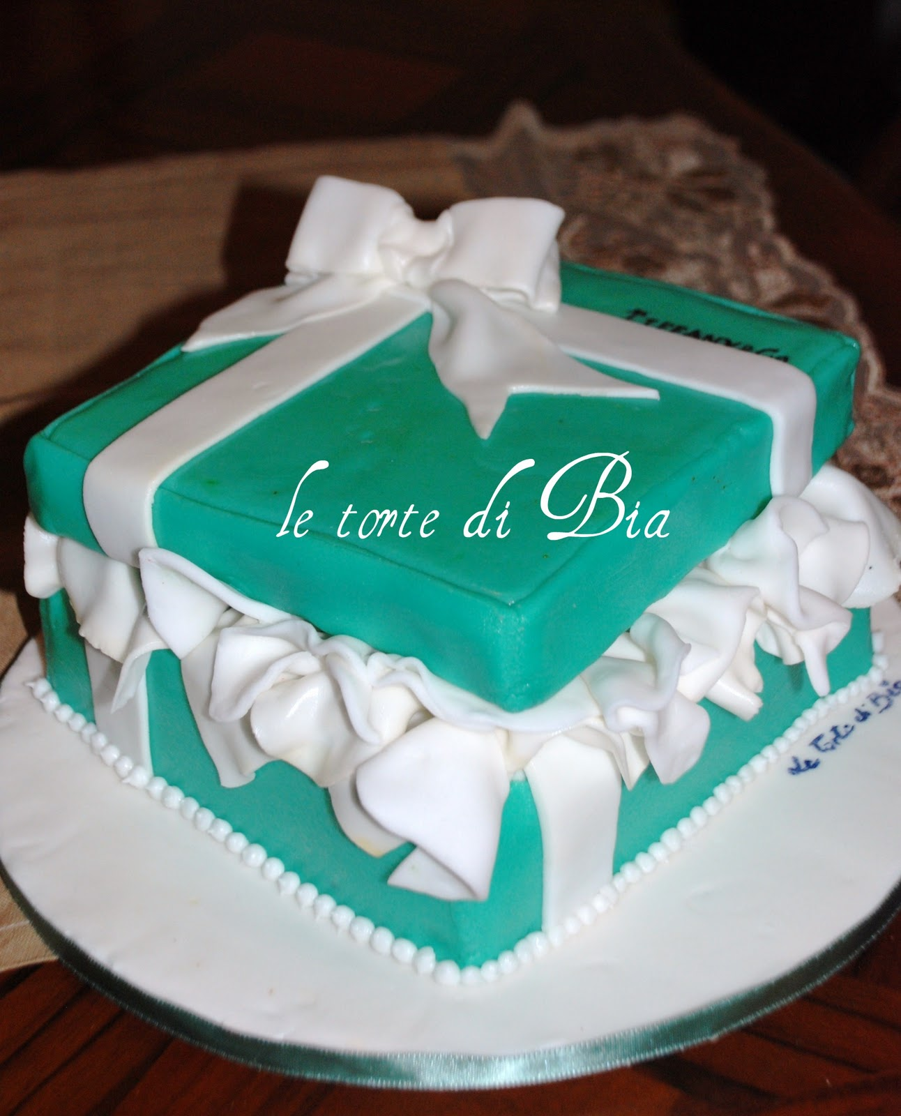 Bia cake design: Compleanno da Tiffany