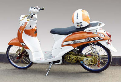 Cara Modifikasi Yamaha Fino