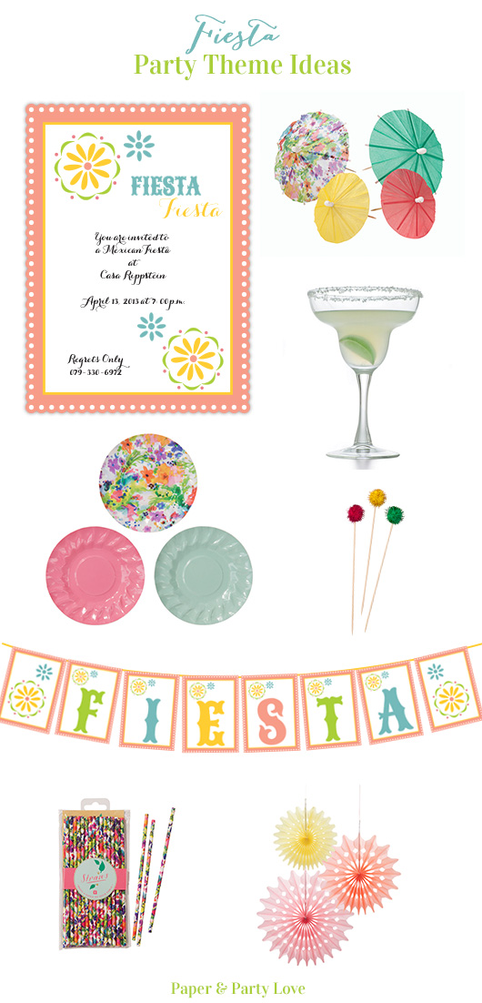 Fiesta Party Ideas | Paper & Party Love