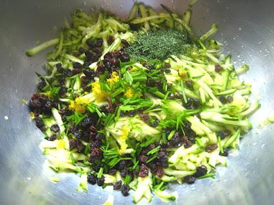 Stacey Snacks: Quinoa Salad w/ Zucchini, Feta, Currants & Dill