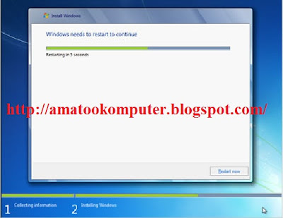 Cara Instal Windows 7 Lengkap 1, Windows 7, Tips Komputer 10