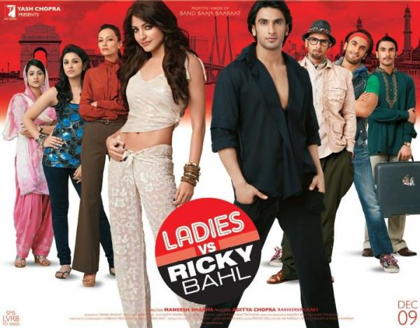 Anushka Sharma1 - Ladies vs Ricky Bahl Movie Poster  Anushka Sharma