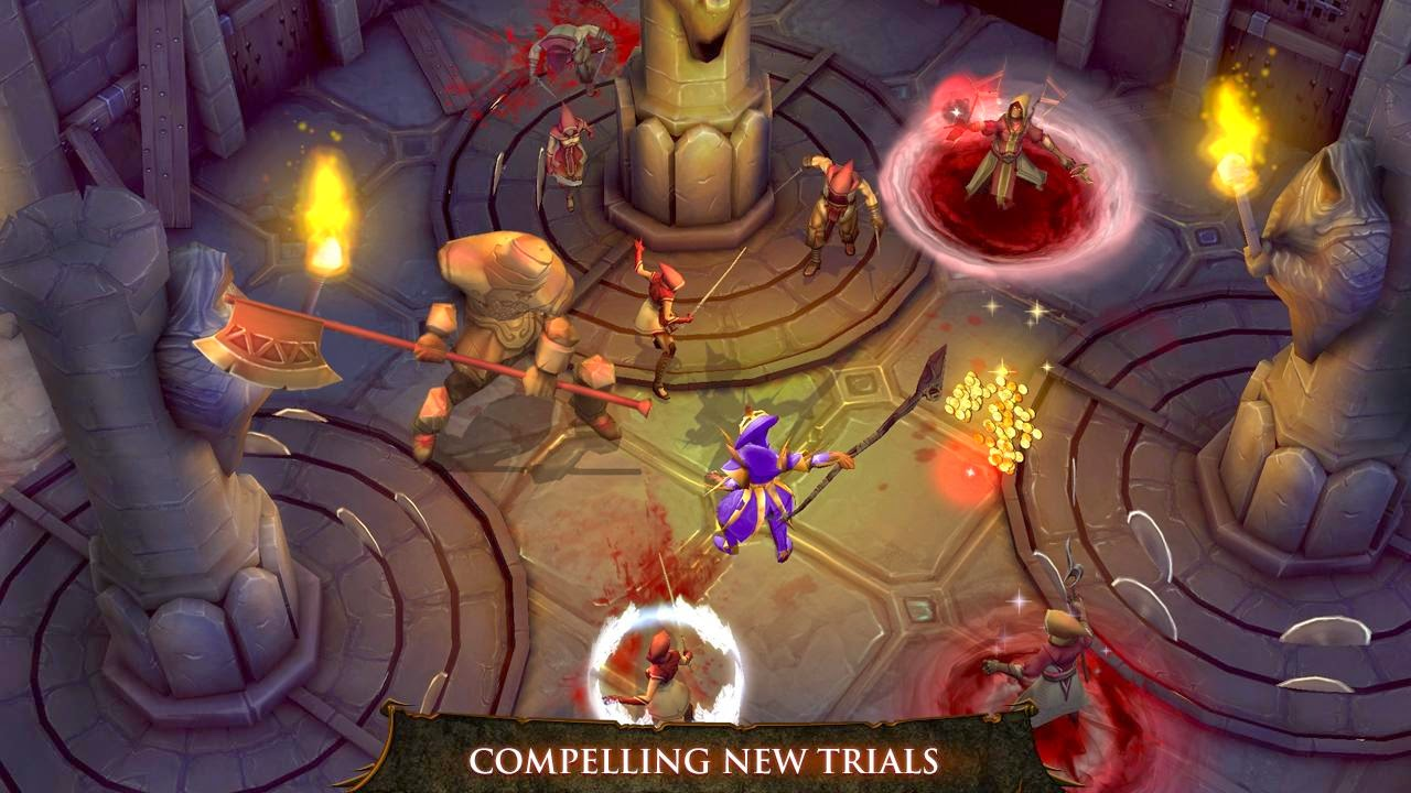 Dungeon Hunter 4 MOD APK+DATA v1.6.0 (1.6.0) (Mod Unlimited Golds ...