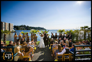 Stephanie & Kalani are married/Kent Buttars, Seattle Wedding Officiant