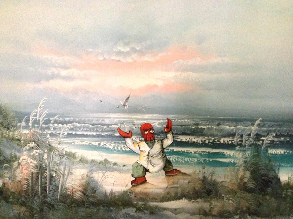 nuncalosabre.Pintura. Painting - Dave Pollot