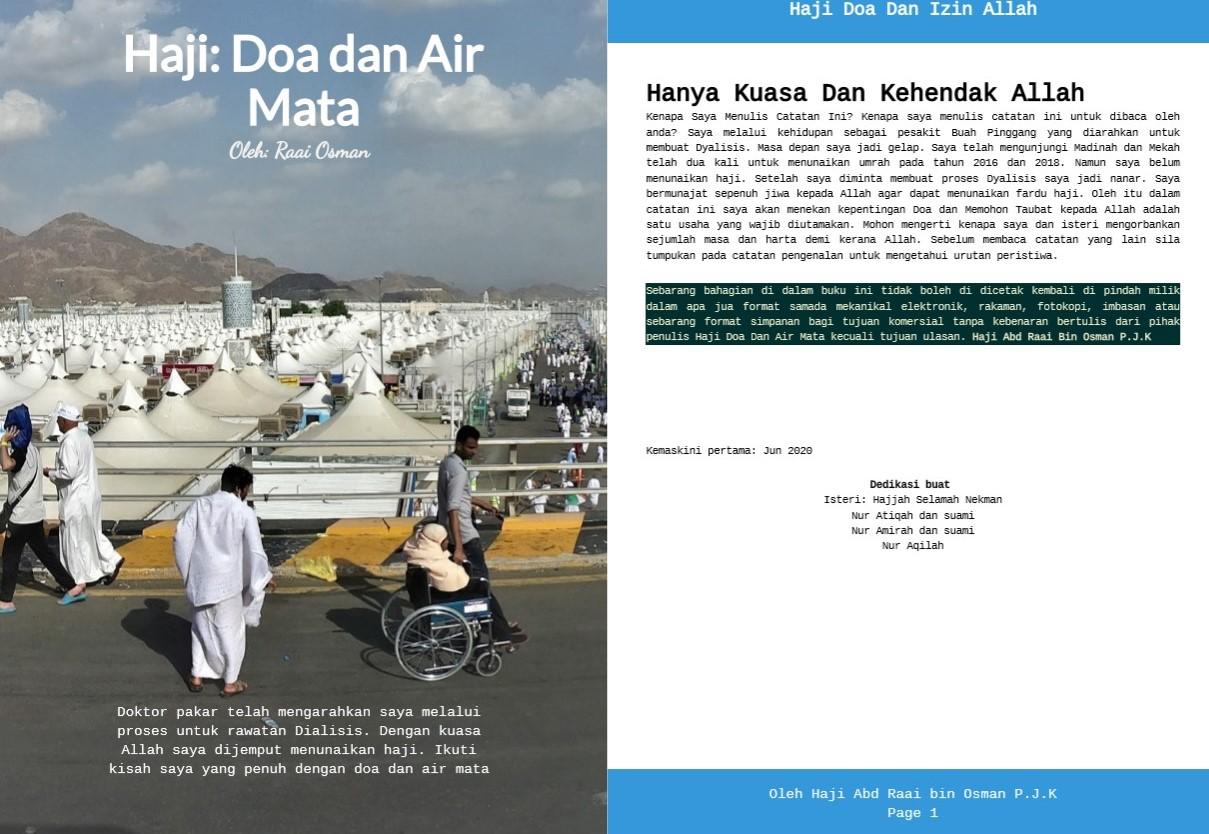 Travellog Haji: Doa dan Air Mata