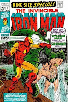Iron Man King Size Special #1 comic book cover