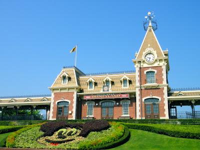 HK Disneyland Train Station
