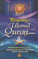 toko buku rahma: buku pengantar ulumul quran, pengarang dr. rosihan anwar, m.ag, penerbit pustaka setia