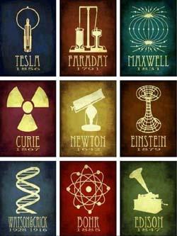 Grandes Cientistas