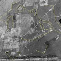 Допотопная киевская крепость на немецком аэрофотоснимке