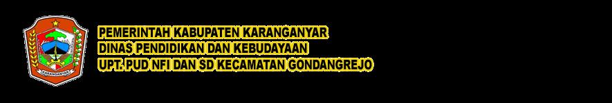 UPT. PUD NFI dan SD KECAMATAN GONDANGREJO