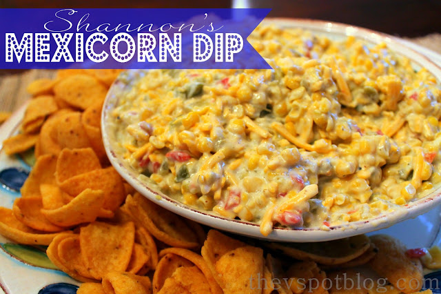 An easy recipe for a yummy corn dip.