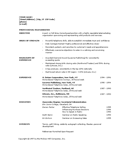 microsoft office 365 sample resume templates