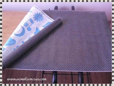 como montar uma mesa com porta usada encapar com papel contact