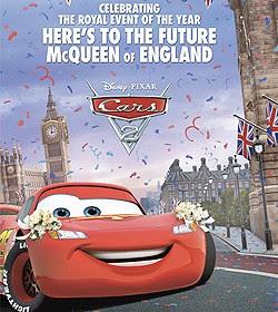 boda real inglesa cars