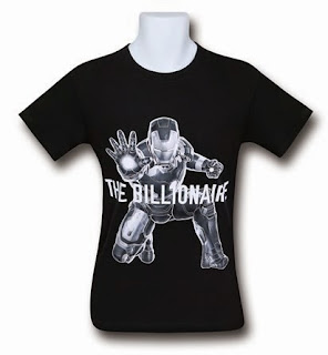 Click here to purchase your Iron Man the Billionaire t-shirt now!