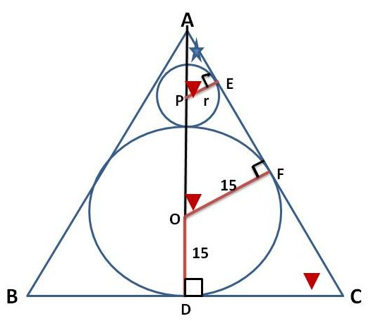 Mathcounts notes 2015 mathcounts state prep inscribed cricle 2015 mathcounts state prep inscribed cricle radius and similar triangles ccuart Images