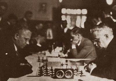 Partida de ajedrez Valentín Marín-Heinrich Wagner, 3ª ronda de la III Olimpiada de Ajedrez de 1930