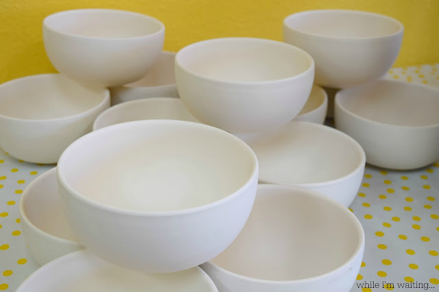 While I'm Waiting...The Empty Bowls Project