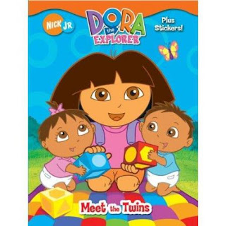 Dora the Explorer with twins