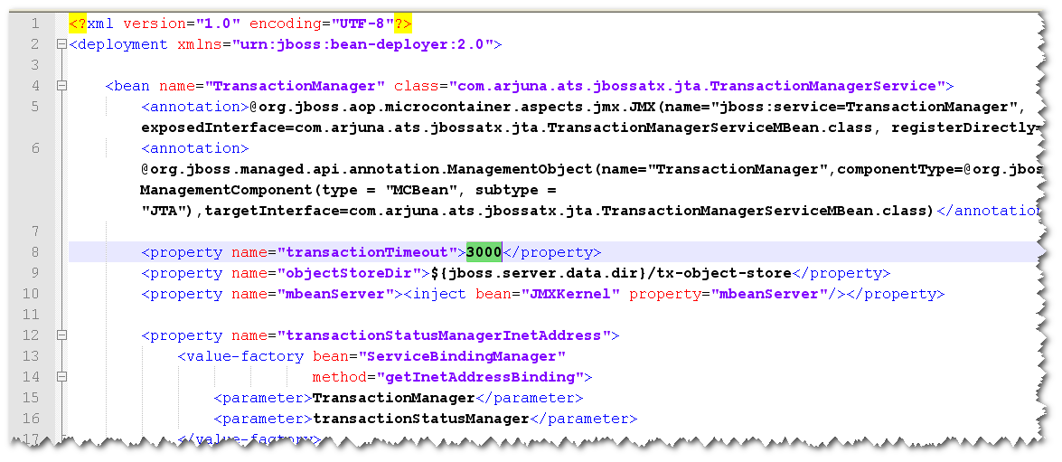 Tech Team Lead News: JBoss exception Transaction is not active ...