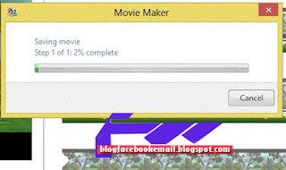 menggunakan movie maker