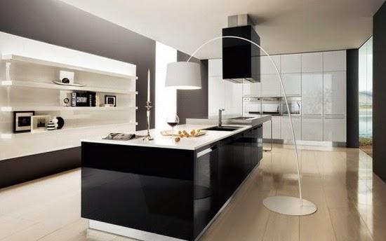 Magic black and white interior design