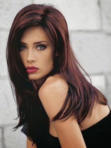 4 stunning dark brown hair highlights