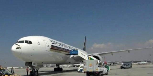 Gara-gara Kentut, Singapore Airlines Mendarat Darurat di Bali