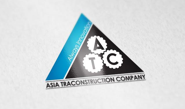 mẫu thiết kế logo công ty Á Châu