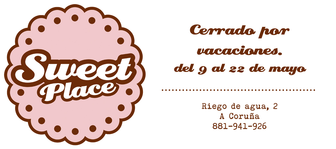 Sweet Place Coffee & Cakes-  Cupcakes, layer cakes, brownies. Dulces personalizados en A Coruña
