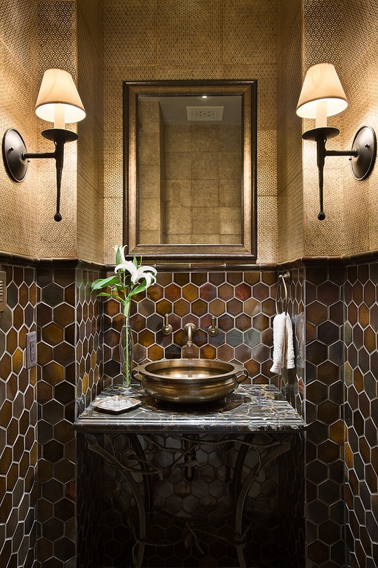 Private Quarters: Masculine V Feminine : Bathrooms