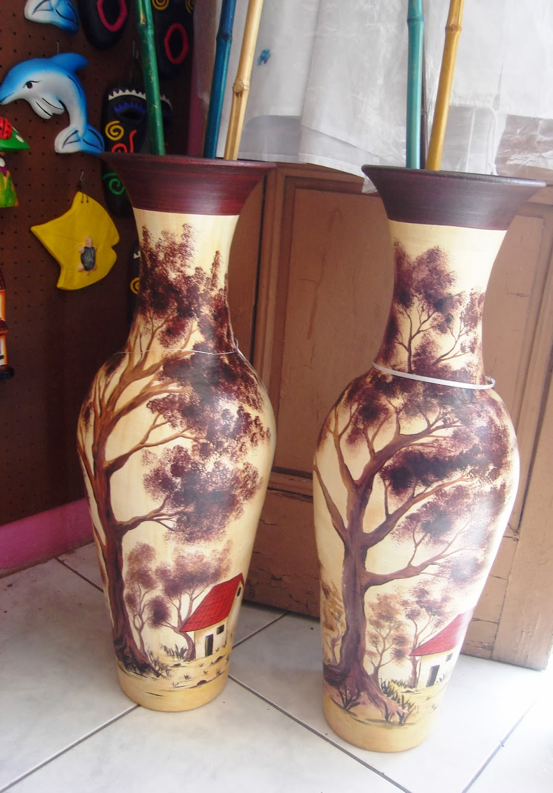 Zianya artesan as productos de barro - Jarrones de diseno ...