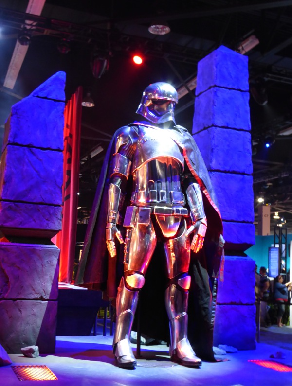 Gwendoline Christie Star Wars Force Awakens Captain Phasma costume