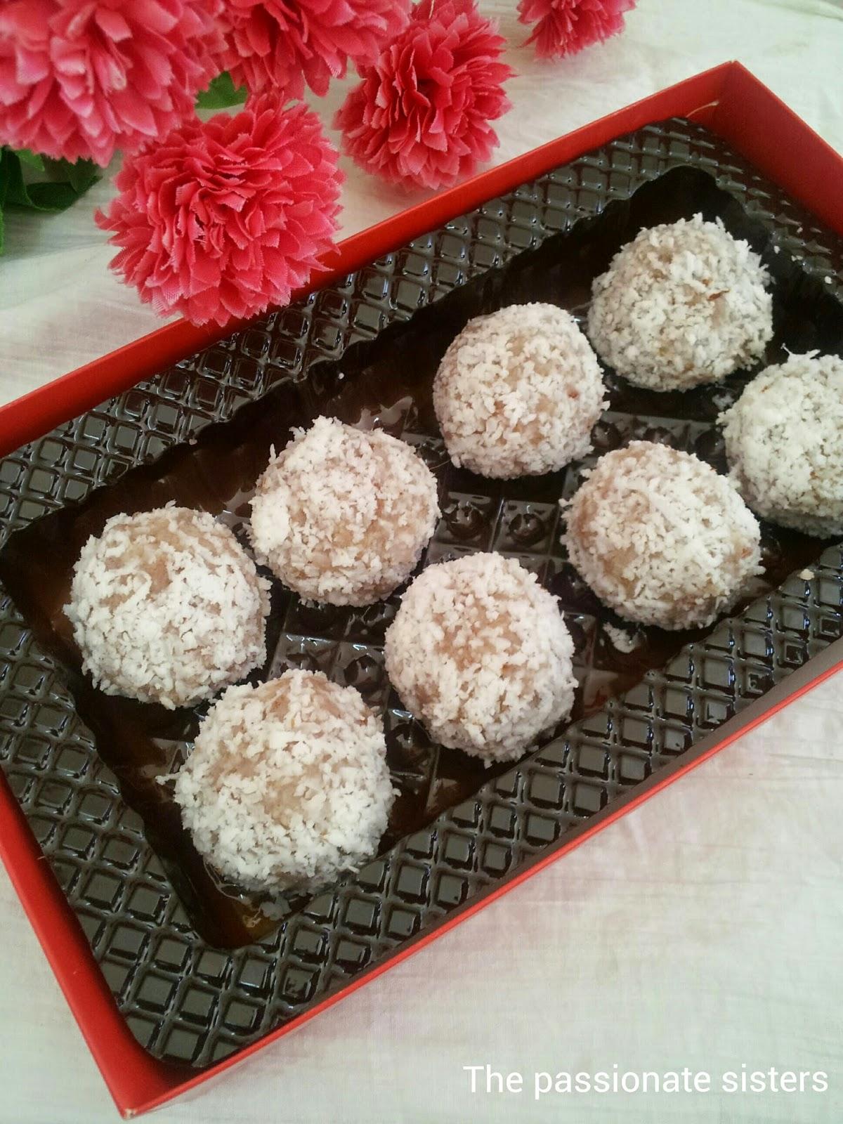 aval truffles, poha breakfast,healthy truffles